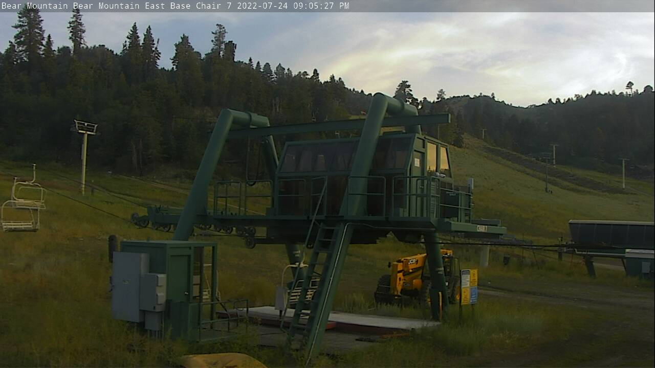 still image of chair 7 at bear mountain