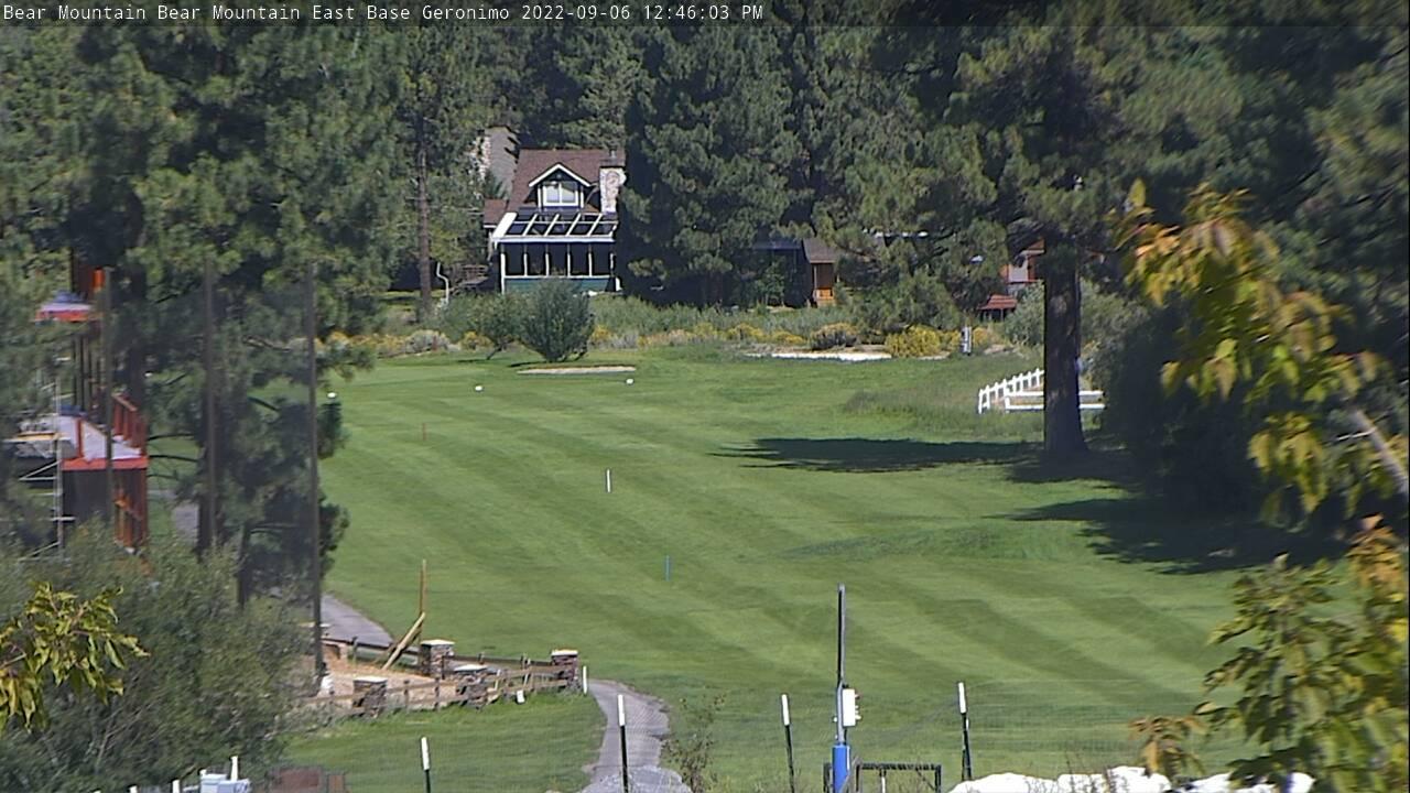 view of geronimo at bear mountain ski area