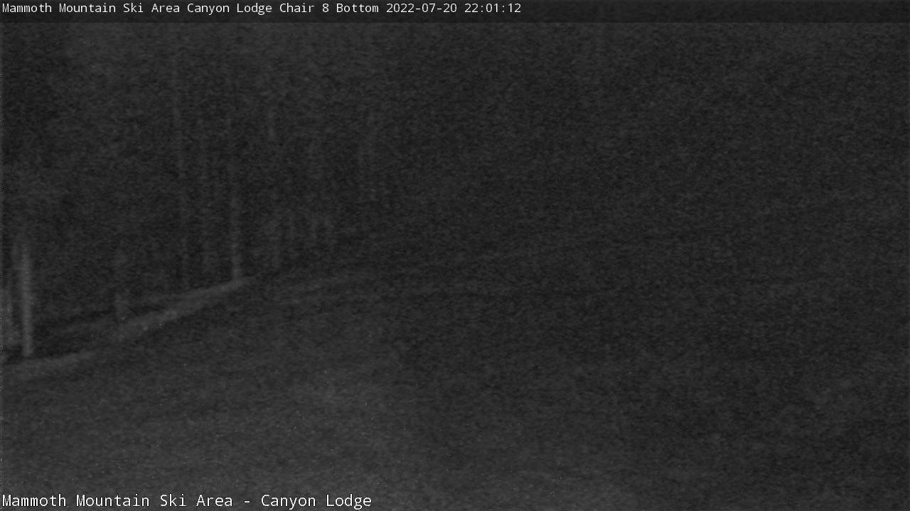 Webcam - Chair 8 at Canyon Lodge