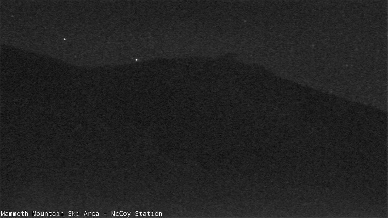 Mammoth Mountain Webcam from MC Coy Station - Cornice Bowl