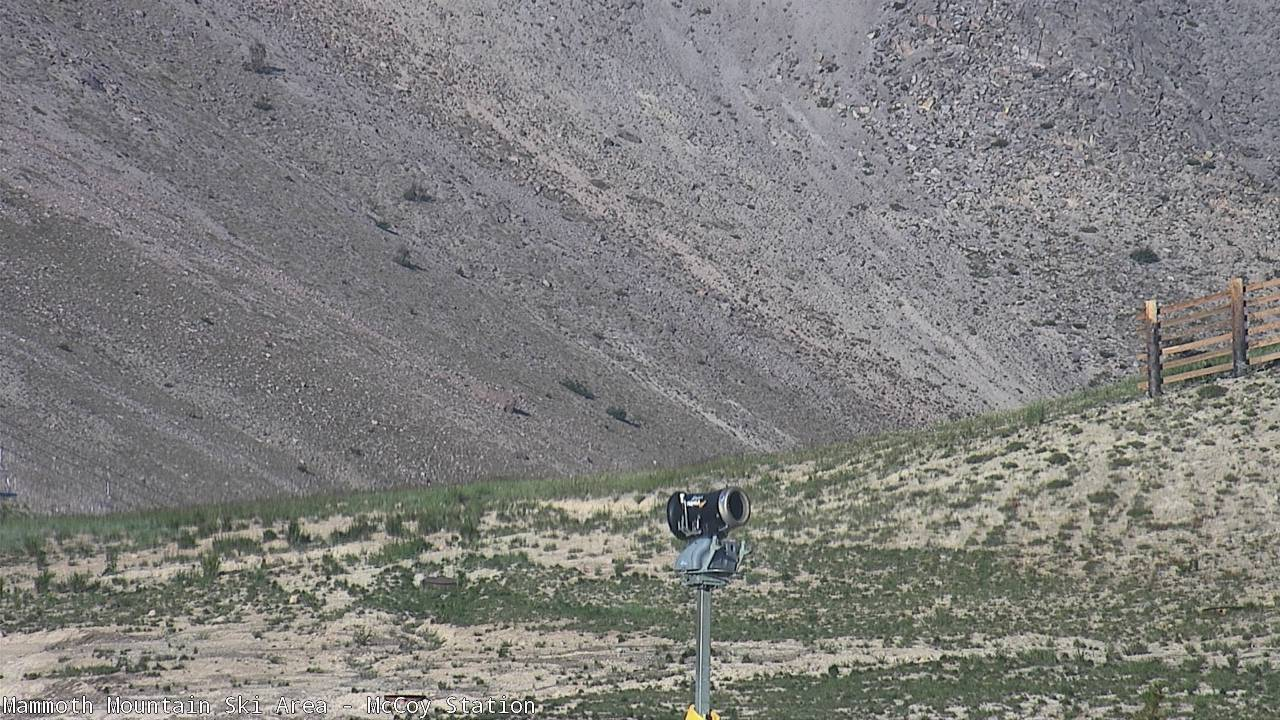MC Coy Webcam at Mammoth Mountain Top of Chair 2 Area