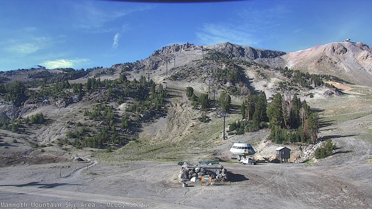 Mammoth Mountain Webcam from MC Coy Station