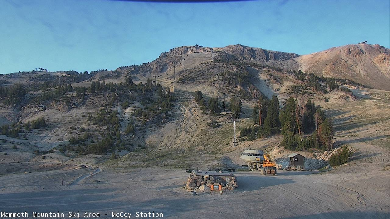MC Coy Station Cam from Mammoth Mountain Ski Area