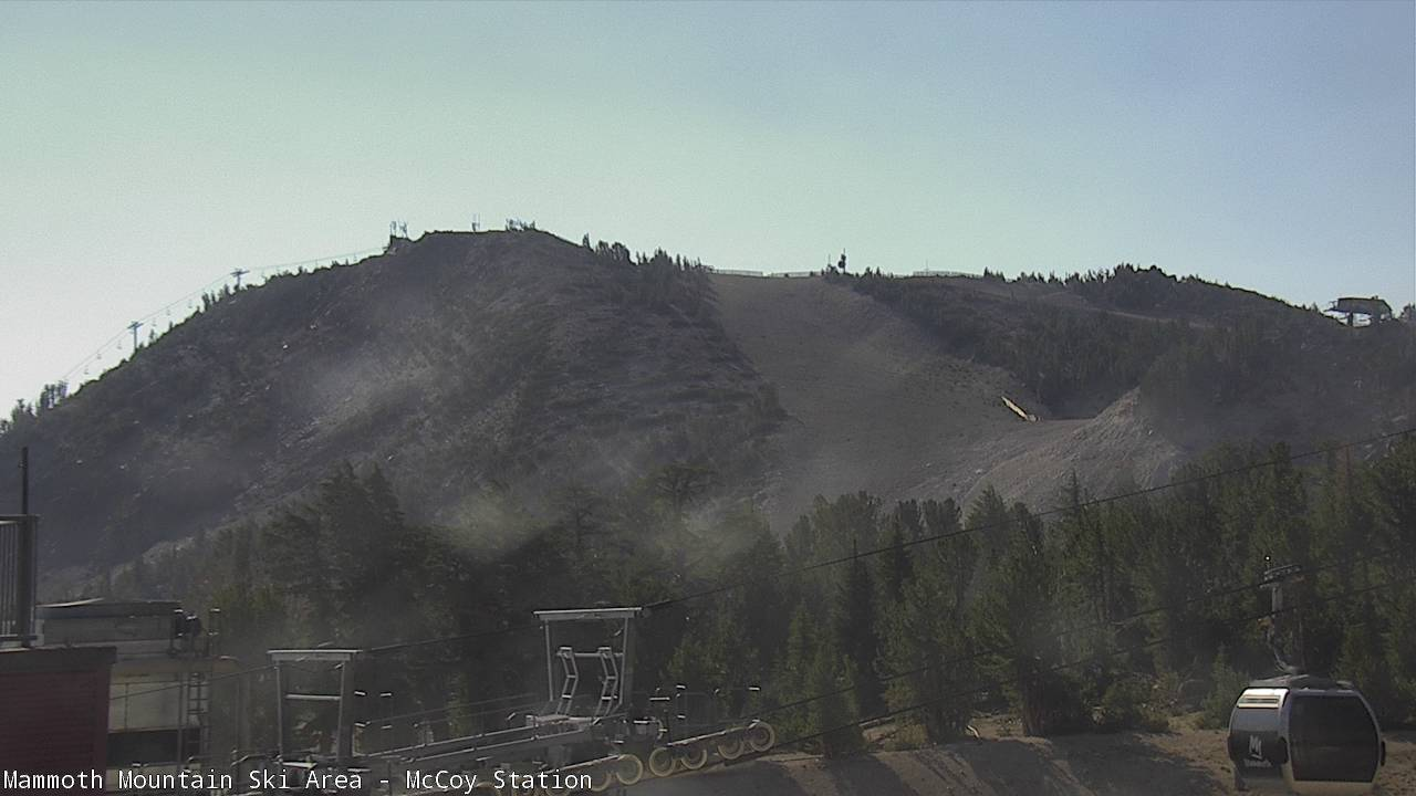 Lincoln Mountain from the MC Coy Station Webcam