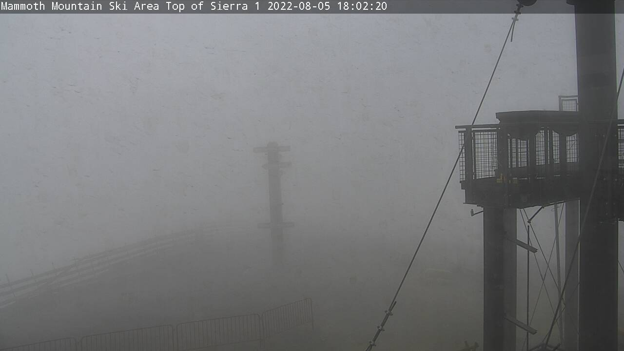 Mammoth Mountain Webcam from the Summit