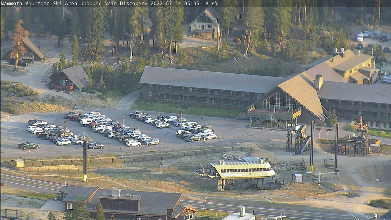 unbound,Mammoth Mountain Webcam