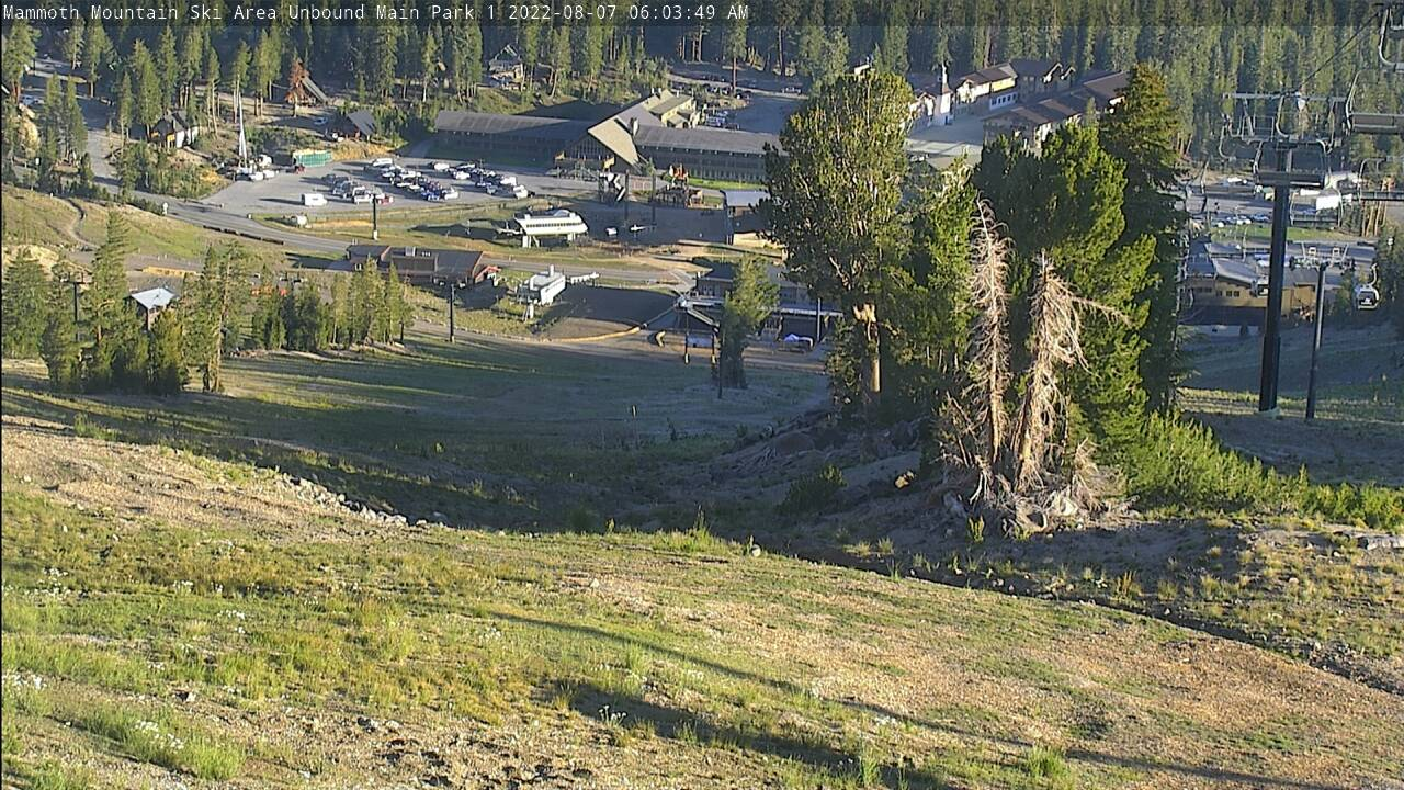 Broadway Cam from Mammoth Mountain